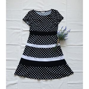 Dress Barn polka-dot dress